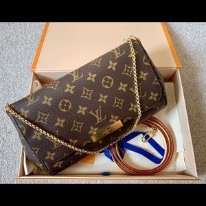 Louis Vuitton Favourite Mm Monogram Cross Body Bag